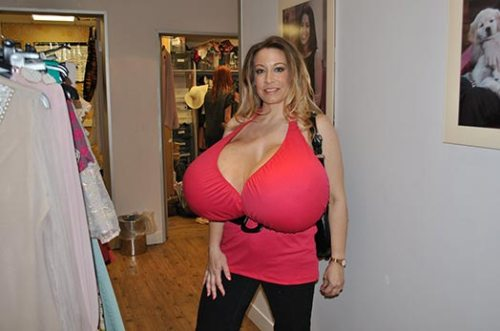 Tits biggest nipples ever
