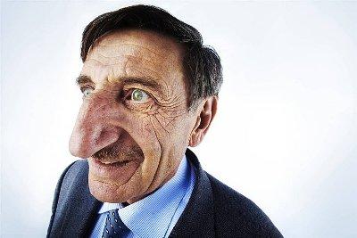 Самый длинный нос в мире