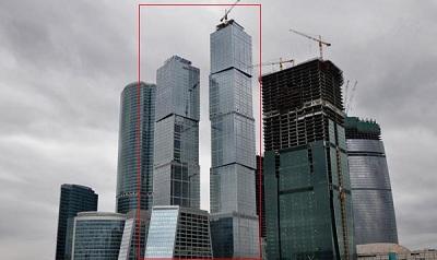 Самое высокое здание в России и Европе