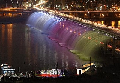 Самый большой фонтан в мире