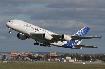 Самый большой пассажирский самолет в мире