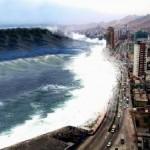 Самое большое цунами в мире
