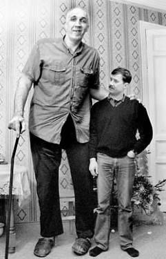 Самый высокий баскетболист в мире
