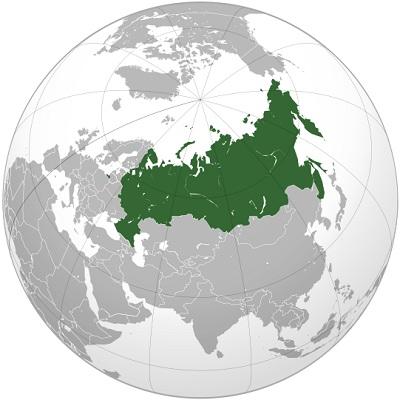Самая большая страна в мире по площади