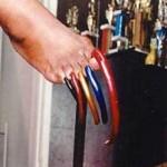 Самые длинные ногти на ногах
